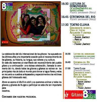 DIA INTERNACIONAL DE LOS GITANOS