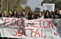 Alumnos de Educación Social piden el reconocimiento de su profesión en la legislación